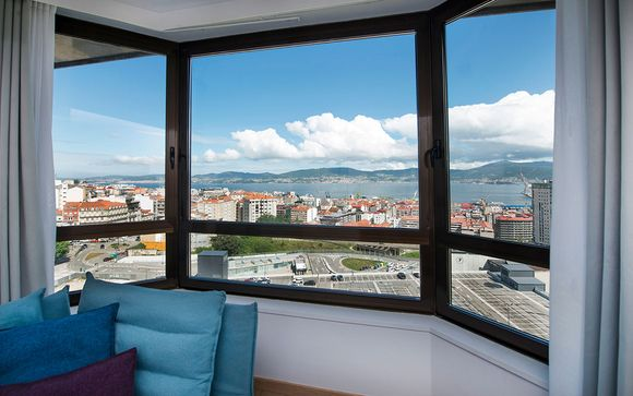 Hotel Occidental Vigo 4*, en Vigo
