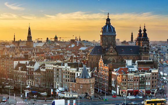 Ámsterdam, en Holanda, te espera
