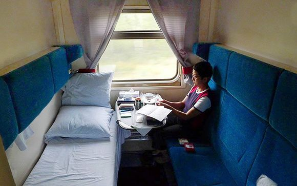 Confort a bordo del Transiberiano