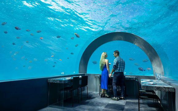 Experiencia Gourmet en H2O (solo para reservas en Aqua Suite a partir de 7 noches)