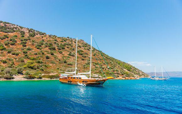 Experiencia única en el Egeo con crucero en pensión completa