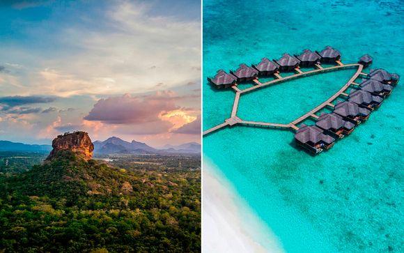 Tour privado en Sri Lanka y Todo Incluido en Las Maldivas