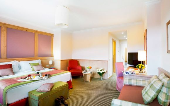 Hotel Schloss Pontresina Family & Spa 4*