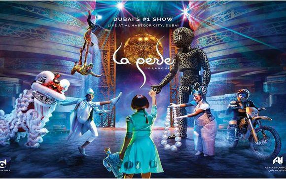 Actividad incluida: Espectáculo La Perle