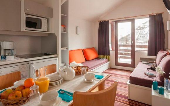 Apartamento Estándar 1/2 dormitorios para 6 personas