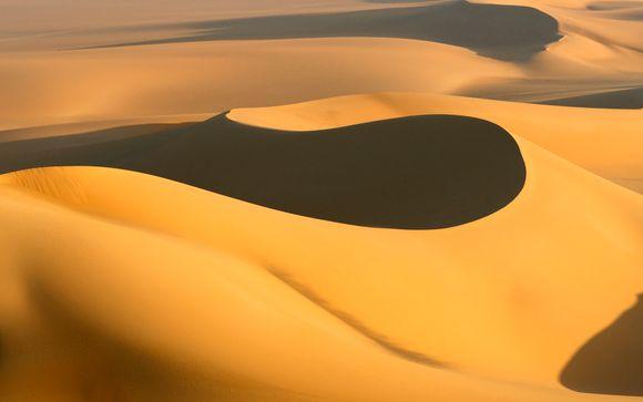 Safari por el desierto en Dubái