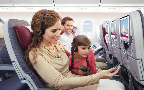 Qatar Airways en Economy