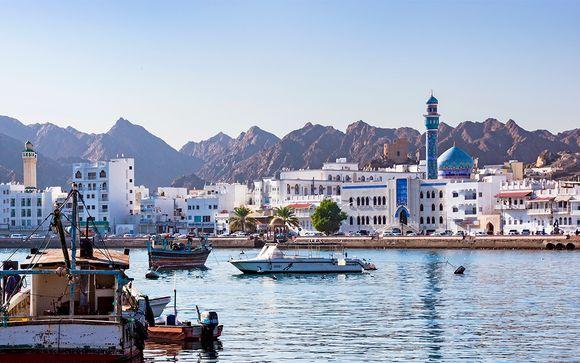Tour privado por Mar y Montaña con extensión a Dubái