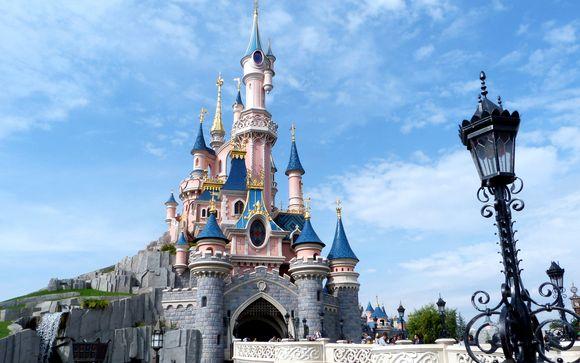 Estancia 4* y 2 días de entradas en Disneyland® Paris con vuelos