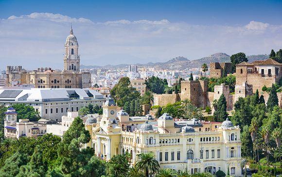 Itinerario de 7 noches de Málaga a Lisboa (salida el 9 de septiembre)