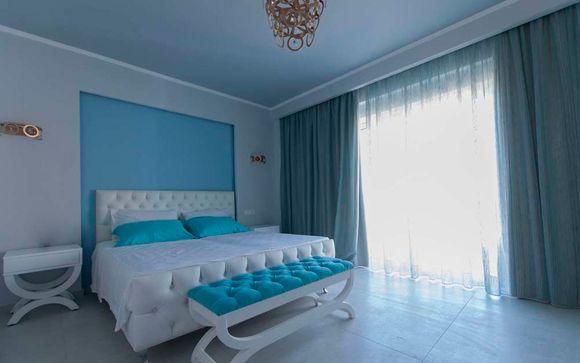 El Hotel Anemos Luxury Resort  le abre sus puertas