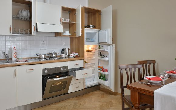 Suite Home Prague 4*