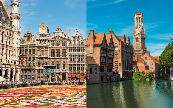 Crowne Plaza Brussels - Le Palace 4* y Prinsenhof 4*