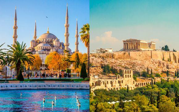 Fer Hotel 4* y Athens One 4* con opción a Rodas