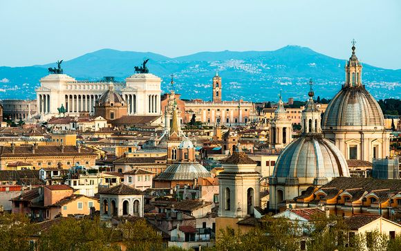 Italia Roma - Hotel Roman Terrace desde 41,00 €