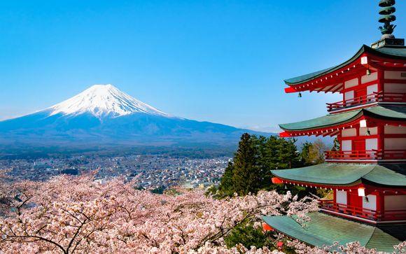 A los pies del Monte Fuji
