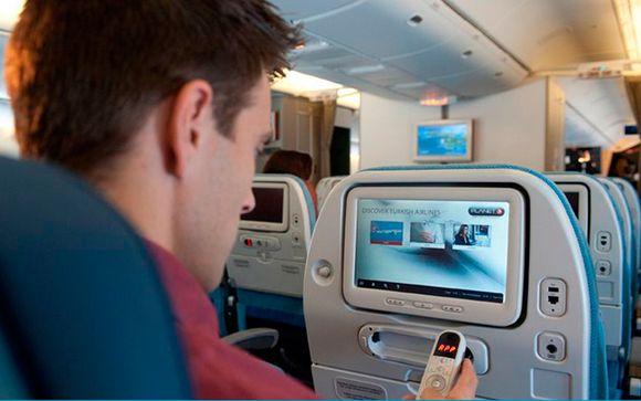 La clase Economy de Turkish Airlines