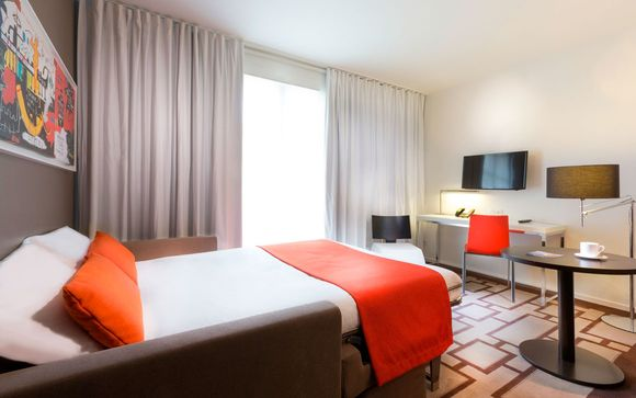 El Hotel Hipark Serris-Val d'Europe le abre sus puertas