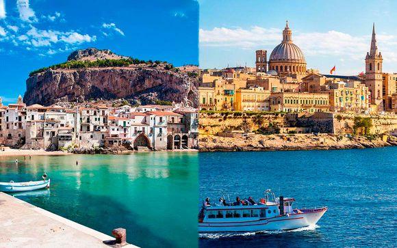 Combinado Sicilia y Malta en hoteles de 4*