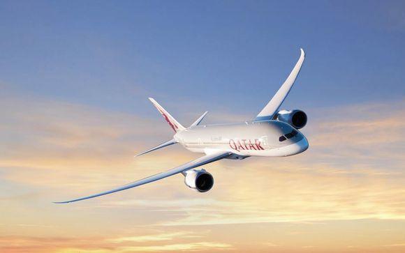 Vive una experiencia de viaje Premium con Qatar Airways