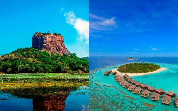 Descubre Sri Lanka con estancia en Vakarufalhi Resort 4*