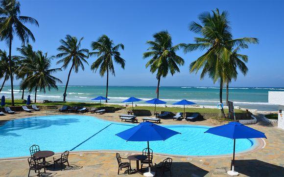 Relax en la playa en media pensión y safari con guía