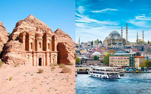 Circuito histórico y cultural en Oriente Medio con vuelos