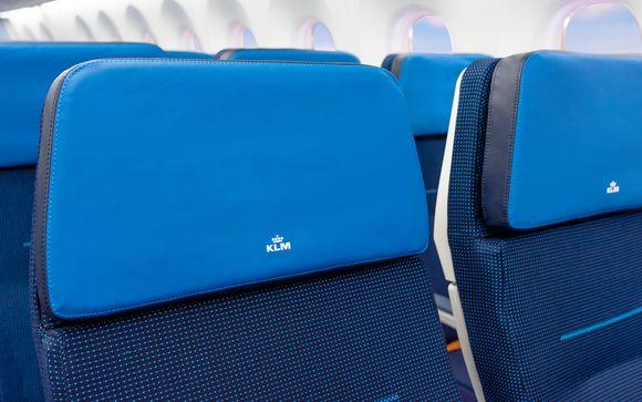 Experiencia de viaje con KLM