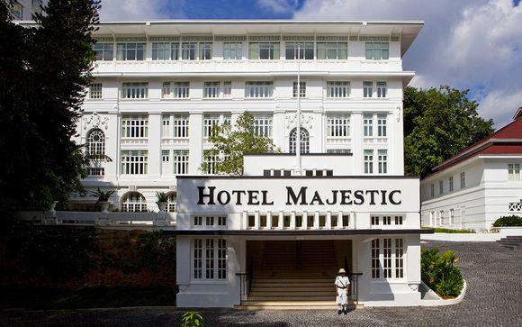 Preextensión en Majestic Kuala Lumpur 5* (opción 2)