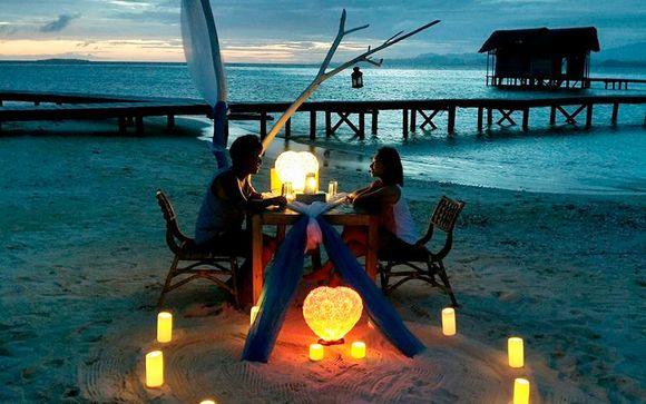 Tu estancia en Pulau Cinta (opción 2)