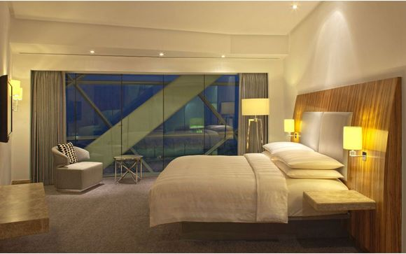 Poussez les portes de l'hôtel Andaz Capital Gate 5* a concept by Hyatt à Abu Dhabi