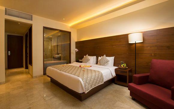 Poussez les portes de l'hôtel Ubud Village Monkey Forest 4*