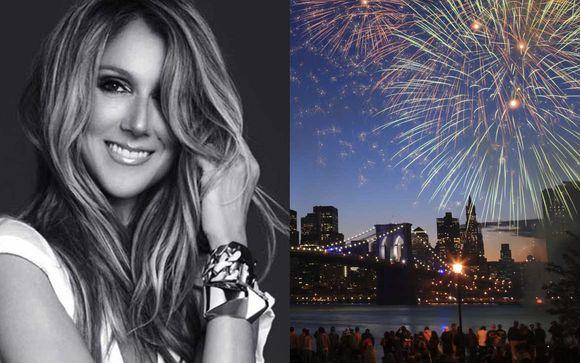 Combiné 4* New York et Las Vegas avec concert de Céline Dion