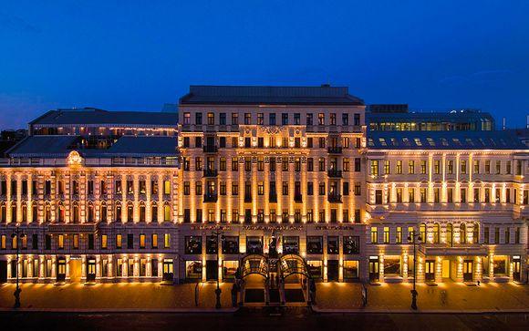 Poussez les portes du Corinthia Hotel St. Petersburg 5*