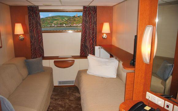 Poussez les portes de votre bateau-hôtel