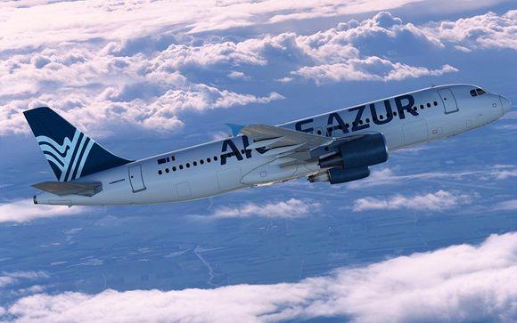 Offrez-vous un vol direct avec Aigle Azur