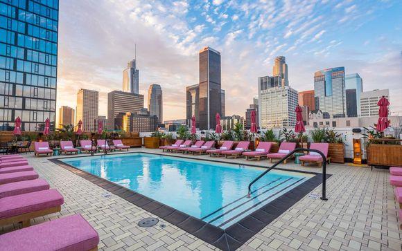 Poussez les portes de l'hôtel Freehand Los Angeles 4* à Los Angeles
