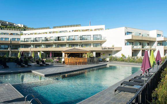 Appartement privé, piscine chauffée et plage de sable blanc