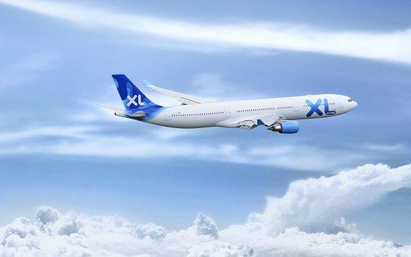 Envolez-vous avec XL Airways en vol direct depuis Paris