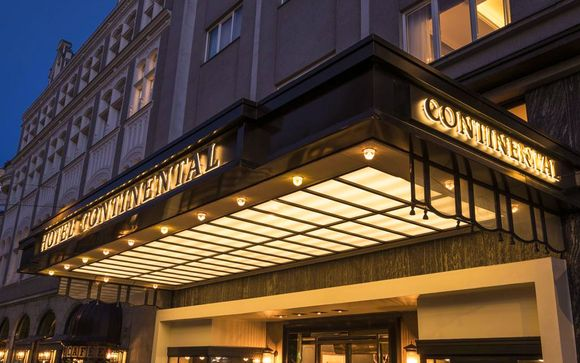 Poussez les portes de l'hôtel Continental 5*
