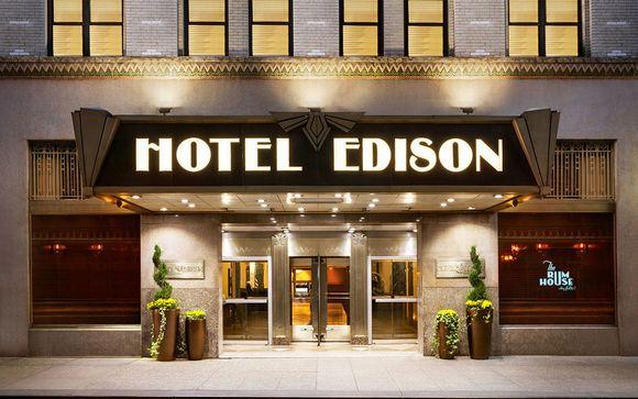 Votre pré-extension possible à l'hôtel Edison 4* Times Square à New York