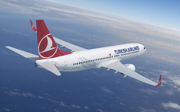 Voyagez avec Turkish Airlines