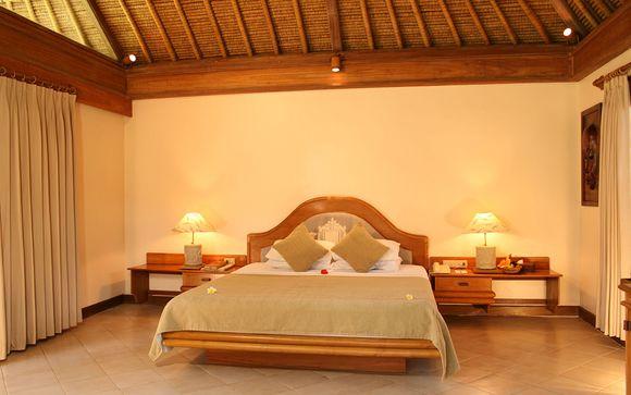 Poussez les portes de l'hôtel Puri Bagus Lovina 4* à Lovina