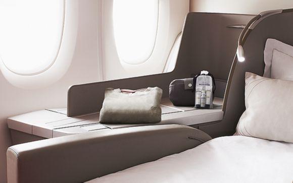 Votre voyage exclusif en cabine La Première Air France