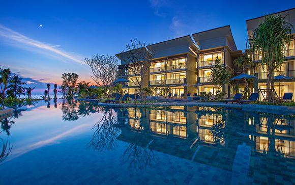 Bangsak Merlin Resort 5* et séjour possible à Bangkok