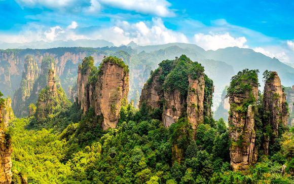 La Chine et les montagnes d'Avatar en 10 nuits