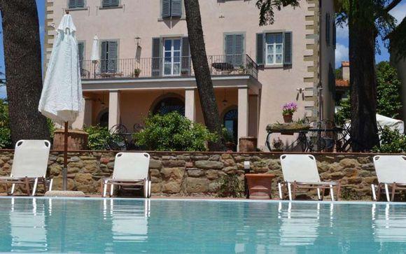 Poussez les portes du Relais Villa La Grotta 4*