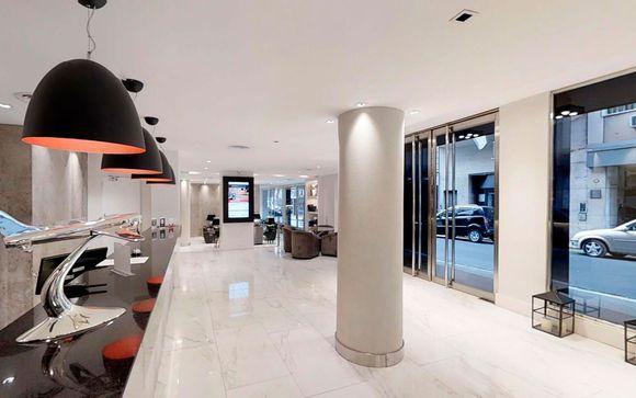 Poussez les portes de l'hôtel Principado Downtown 4* à Buenos Aires