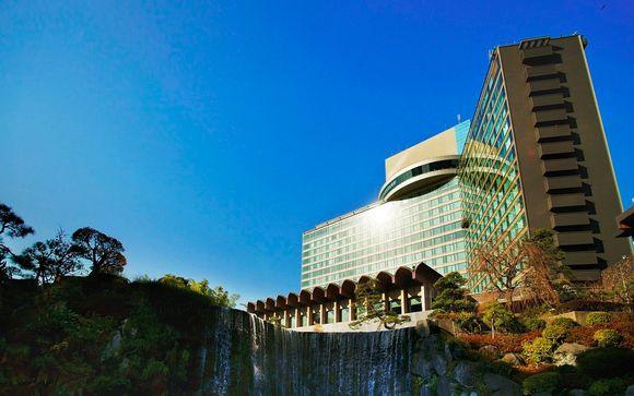 Poussez les portes de l'hôtel New Otani The Main à Chiyoda Tokyo