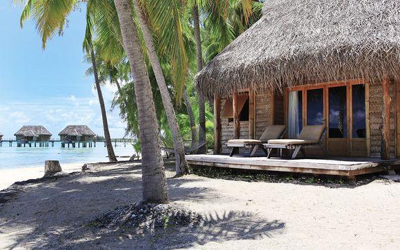 Poussez les portes de l'hôtel Tikehau Pearl Beach Resort 4*